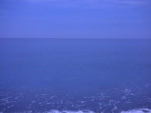 9月12日酒匂海岸 5時40分